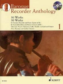 BAROQUE RECORDER ANTHOLOGY VOL 1 FLUTE A BEC SOPRANO