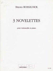 ROSSIGNOL B. NOVELETTES VIOLONCELLE