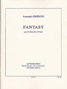 GHIDONI A. FANTASY VIOLONCELLE