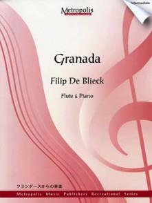 DE BLIECK F. GRANADA FLUTE
