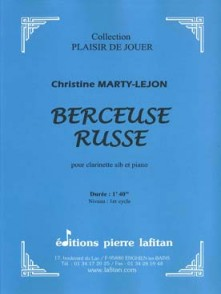MARTY-LEJON C. BERCEUSE RUSSE CLARINETTE