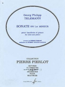 TELEMANN G.P. SONATE LA MINEUR HAUTBOIS