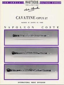 COSTE N. CAVATINE OP 37 HAUTBOIS