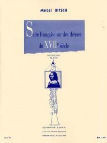 BITSCH M. SUITES FRANCAISES SUR DES THEMES DU 17 ME SIECLE HAUTBOIS