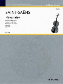 SAINT-SAENS C. HABANERA VIOLON