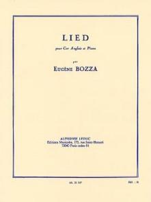 BOZZA E. LIED COR ANGLAIS