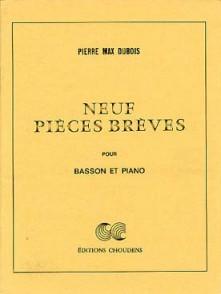 DUBOIS P.M.  PIECES BREVES BASSON