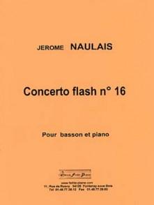 NAULAIS J. CONCERTO FLASH N°16 BASSON