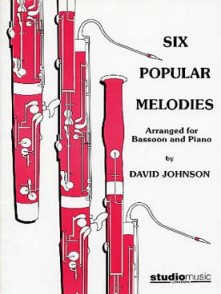 JOHNSON D. SIX POPULAR MELODIES BASSON