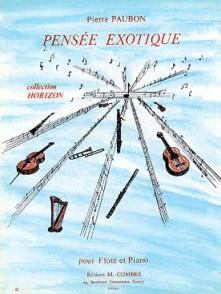 PAUBON P. PENSEE EXOTIQUE FLUTE