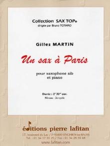 MARTIN G. UN SAX A PARIS SAXO TENOR