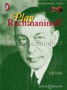 RACHMANINOFF PLAY RACHMANINOFF VIOLON