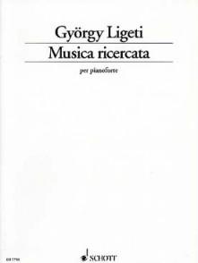 LIGETI G. MUSICA RICERCATA ¨PIANO