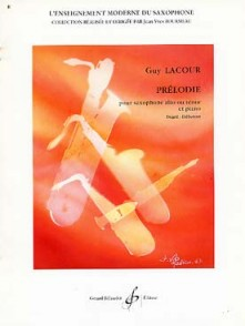 LACOUR G. PRELODIE SAXO SIB