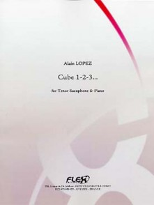 LOPEZ A. CUBE 1-2-3... SAXO SIB