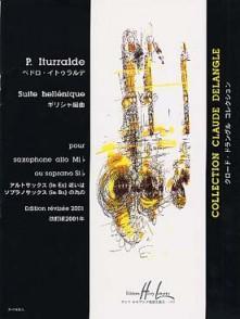 ITURRALDE P. SUITE HELLENIQUE SAXO MIB OU SIB