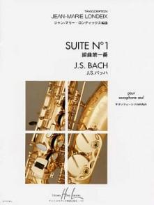 BACH J.S. SUITE N°1 SAXO