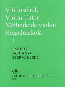 SANDOR METHODE DE VIOLON VOL 1