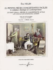 HULIN E. 21 PETITES PIECES CONCERTANTES VOL 1 COR