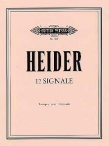 HEIDER SIGNALE TROMPETTE