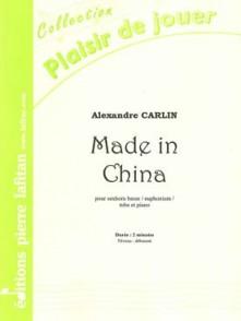 CARLIN A. MADE IN CHINA TUBA