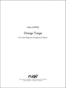 LOPEZ A. ORANGE TANGO SAXO TENOR