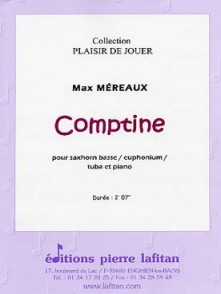 MEREAUX M. COMPTINE TUBA OU EUPHONIUM OU SAXHORN