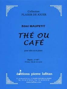 MAUPETIT R. THE OU CAFE TUBA OU EUPHONIUM OU SAXHORN