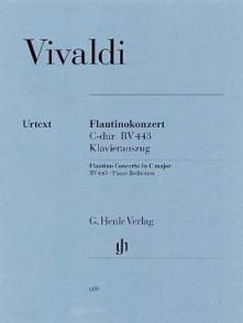 VIVALDI A. FLAUTINO CONCERTO C MAJOR FLUTE PICCOLO