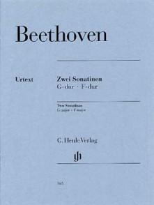 BEETHOVEN L. SONATINES PIANO