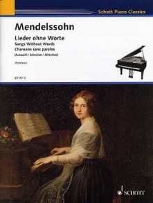 MENDELSSOHN F. ROMANCES SANS PAROLES PIANO