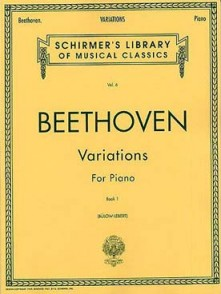 BEETHOVEN L. VARIATIONS VOL 1 PIANO