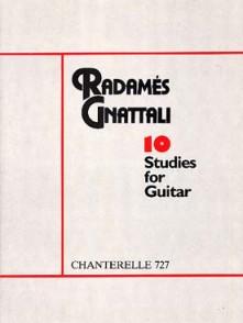 GNATTALI R. ETUDES GUITARE