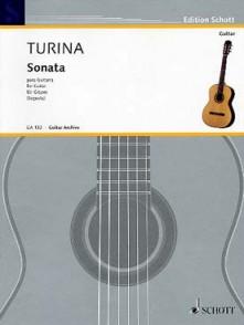 TURINA J. SONATE GUITARE