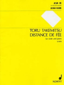 TAKEMITSU T. DISTANCE DE FEE VIOLON