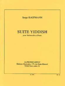 KAUFMANN S. SUITE YIDDISH VIOLONCELLE