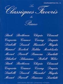 CLASSIQUES FAVORIS VOL 1A COMPLEMENT PIANO