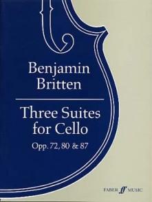 BRITTEN B. SUITES OP 72 - 80 - 87 VIOLONCELLE