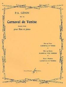 GENIN P.A. CARNAVAL DE VENISE FLUTE