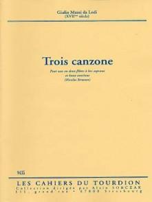 MUSSI DA LOGI G. CANZONE FLUTE SOPRANO