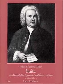 BACH J.S. SUITE BWV 997 FLUTE ALTO