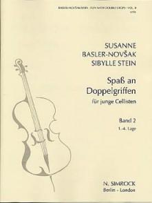 BASLER-NOVSAK S./ STEIN S. SPASS AN DOPPELGRIFFEN VOL 2 VIOLONCELLE
