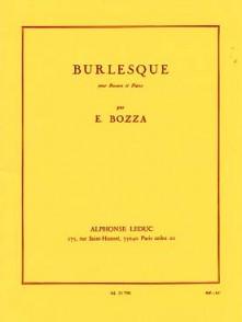 BOZZA E. BURLESQUE BASSON