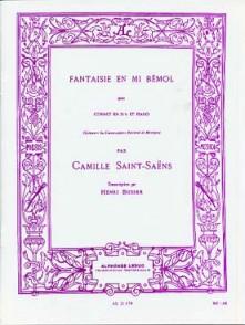 SAINT-SAENS C. FANTAISIE EN MIB TROMPETTE