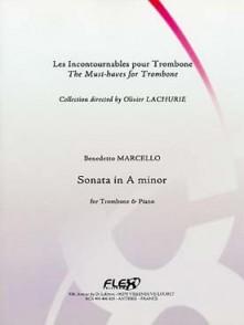 MARCELLO B. SONATE LA MINEUR TROMBONE