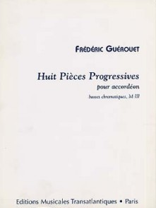 GUEROUET F. PIECES PROGRESSIVES ACCORDEON