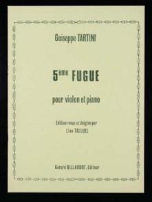 TARTINI G. 5ME FUGUE VIOLON