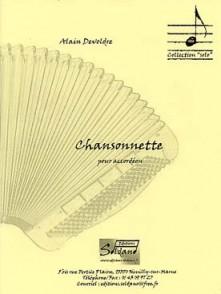 DELVODRE A. CHANSONNETTE ACCORDEON