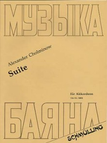 CHOLMINOW A. SUITE ACCORDEON