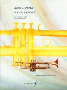 CHAYNES C. DE L'ARC A L'OGIVE TROMPETTE